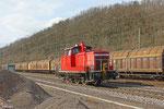 363 205 kehrt vom Az-Dienst aus Völklingen nach Saarbrücken zurück, Luisental(Saar) am 19.03.14