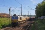 77 005 mit GC 49241 Dunkerque/F - Dormagen (Polimeri Europa France) , 04.05.14 Einfahrt Saarbrücken Rbf