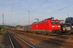 185 032 mit EZ 55994 Homburg(Saar) Hbf - Ehrang Nord , Neunkirchen am 30.05.14