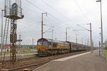 ECR 66235 (OFP Atlantique SAS, La Rochelle) mit EZ 44226 Saarbrücken Rbf West - Les Aubrais Orléans (EV , Tiernahrung) , Forbach 13.07.14