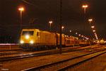ECR 186 317 mit EZ 51914 Mannheim Rbf Gr.G - Saarbrücken Rbf Nord (EV), Mannheim Rbf 22.12.12