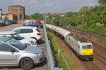 ECR 186 307 mit GC 49239 (Le Harvre/F) Forbach - Großkorbetha (Sdl.Propen) , Saarbrücken 11.06.14