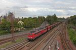 DT 140 861 + 140 811 mit GM 48772 Dillingen Zentralkokerei - Oberhausen West Orm (Maasvlakte Oost), Dillingen 19.08.14