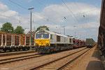 ECR 77 008 mit EZ 49268 Einsiedlerhof - Villers-Cotterêts (Auto-und Autoteile SAS) , Einsiedlerhof am 12.06.14