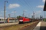 186 334 mit EZ 44210 Saarbrücken Rbf West - Blainville (Railnet France) , Forbach/F 12.06.14