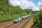 SNCF FRET BB37020 (i.E für RBB) mit DGS 44430 Erfurt Gbf - Forbach/F (Sdl.) SB Güterumfahrung am 05.06.14