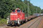 363 172 rangiert im Anschlussgleis SRP-Saarländische Rohprodukte GmbH in Homburg(Saar)