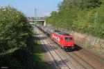 185 588 mit DGS 88717 Ehrang Nord - Ludwigshafen-Rheingönheim, Saarbrücken 16.09.14