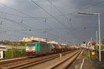 """186 230 (COBRA """" 2838"""") mit GC 47536 Antwerpen DS BASF - Ludwigshafen/Rhein BASF Gbf, Ludwigshafen/Rhein Hbf am04.04.14"""