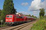 111 028 mit RE-D 4273 Trier Hbf - Mannheim Hbf , Saarbrücken Burbach 12.08.14