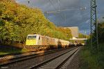 ECR 186 315 mit KT 44428 Saarbrücken Rbf West - Forbach/F (Bayonne) (Sd.KV), Saarbrücken 11.10.14