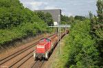 294 756 mit Leerwagen nach Saarbrücken-Malstatt , 20.06.14