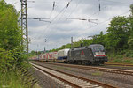 Siemens Dispolok 182 512 (i.E.für TXL) mit DGS 69448 (Bettemborg/L) Forbach/F - München Laim Rbf am 26.05.14 in Dudweiler