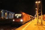 ÖBB 1116 260 mit NF 13920 Innsbruck - Bruxelles-Midi ( Venice Simplon-Orient-Express ), Saarbrücken Hbf 12.10.14