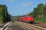 DT RBH 271 (151 079) + RBH 273 (151 083) mit GM 60499 Oberhausen West Orm - Neunkirchen(Saar) Hbf (Kohle) , Dudweiler 11.08.14