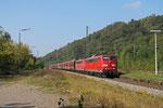 DT RBH 275 (151 147) + RBH 261 (151 038) mit GM 60498 Ensdorf - Neunkirchen(Saar) Hbf , Luisenthal(Saar) 01.10.14
