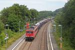 155 084 mit GA 47392 (Kolin) Cheb/CZ - Forbach/F (Gevrey) (Sdl.PKW) , Fischbach-Camphausen 23.07.14