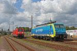 PKP 189 205 abgestellt am 14.08.14 in Dillingen(Saar)
