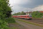 628 642 und 628 681 als Lr 70481 Trier Hbf - Ludwigshafen/R Hbf tief (Überführung) am 30.04.14 in Saarbrücken-Burbach