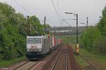 185 531 mit DGS 83758 München Laim Rbf - Saarbrücken Rbf Nord (Bettembourg/L) (Sdl.Mars Logistik) am 02.05.14 bei Neunkirchen-Sinnerthal