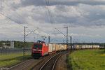 152 119 mit KT 50034 Basel Bad Rbf A - Bremen-Grolland (KV , Hellmann) am 12.04.14 bei  Waghäusel