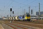STOCK 264 001 mit DGS 99731 Mainz-Weisenau Gbf - Mühlacker am 10.03.14 in Mannheim Hbf