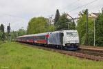 LM 185 662 mit DPE 24581 Merzig - Kufstein am 27.04.14 in Saarbrücken Ost