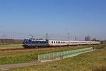 181 201 mit IC 2058 Stuttgart Hbf - Saarbrücken Hbf am 14.03.14 bei Vogelbach