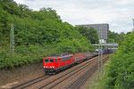 155 239 mit EK 55968 Saarbrücken Rbf West - Dillingen(Saar) , 20.06.14