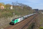 BB37009 mit DGS 44432 Saarbrücken Rbf Nord - Forbach/F am 27.03.14 in Saarbrücken(Güterunfahrung)