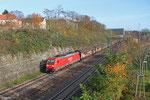 185 298 mit GM 62830 Saarbrücken Rbf West - Beddingen VPS (Sdl. Walzdraht in Ringen), Saarbrücken 23.11.14