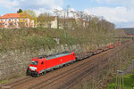 186 340 mit GM 60544 Neunkirchen(Saar)Hbf - Völklingen am 26.03.14 in Saarbrücken