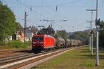 185 032 mit EZ 44250 Mannheim Rbf Gr.G - Woippy/F (EV), Dudweiler 17.09.14