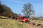 Bei Steinwenden 643 030 als RB 12919 nach Kaiserslautern.