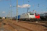 BB37526 mit DbZ 44420 Rheydt - Forbach/F (Sdl.Überführung Siemens Eurostar 320), Forbach Triage 16.09.14
