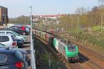 "BB37009 mit ""Koksleerzug"" aus Pont-à-Mousson , 27.03.14 Güterumfahrung Saarbrücken"