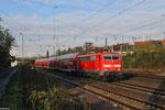 111 169 mit RE 4273 Trier Hbf - Mannheim Hbf am 20.11.13 in Saarbrücken-Burbach