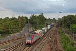 CFL 4013 mit DGS 47680 München-Laim Rbf - Bettembourg/L (Sdl.KV,Mars), Dillingen 19.08.14