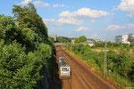 25.07. - Saarbrücken Güterumfahrung , AKIEM BB37053 (im Einsatz für HSL) mit DGS 95456 Neunkirchen(Saar) Hbf -Bremen-Inlandshafen