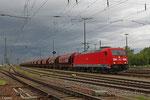 185 353 mit GC 48290 Heringen (Werra) - Hausbergen/F (Kali) am 12.05.14 in Offenburg Gbf Gr.A