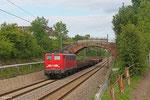 140 858 mit EK 55922 Saarbrücken Rbf West - Dillingen Hochofen Hütte , Saarbrücken Burbach 15.07.14