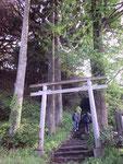 トトロが出そうでしょ・・・  原田の伊賀神社