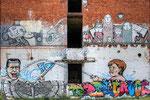 Graffiti - Altes Conti Gebäude Limmer