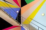 Lothar Götz, crash, Stufen zur Kunst Installationsansicht Kunstverein Hannover/ Stiftung Niedersachsen, 2012 #3