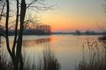Sonnenuntergang Kiesteiche bei Hemmingen