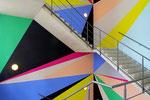 Lothar Götz, crash, Stufen zur Kunst Installationsansicht Kunstverein Hannover/ Stiftung Niedersachsen, 2012 #2