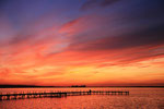 Sonnenuntergang Steinhuder Meer #5