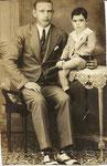 Lisardo y su hijo Ramoncito(años 30 en Cuba)