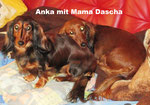 Anka mit Mama Dascha
