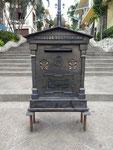 Historischer Briefkasten in Guayaquil, Ecuador.